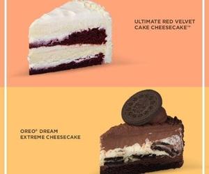 cheesecake, food, and oreo image