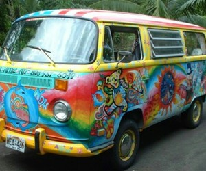peace, color, and hippie image