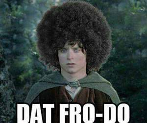 frodo, funny, and fro image