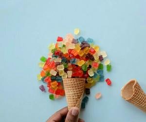 dreamy, pretty, and gummy bears image