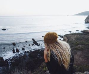 adventure, girl, and nature image