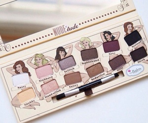 eyeshadow, makeup, and the balm image