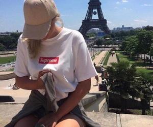 cap, girl, and goals image