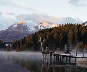 adventure, autumn, and calm image