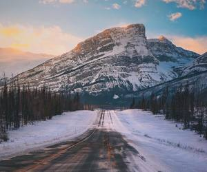 adventure, car, and cold image