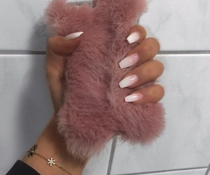 nails, fur, and luxury image