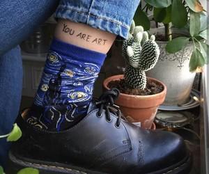 art, aesthetic, and socks image
