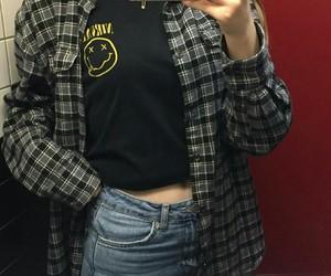 grunge girl nirvana style image