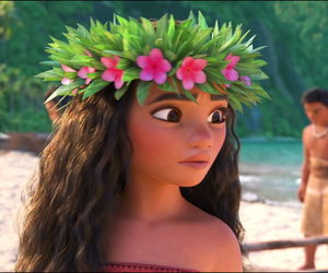 disney, princess, and moana image