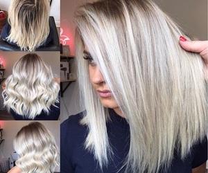 bleach, blonde, and hair image