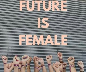 female, future, and feminist image