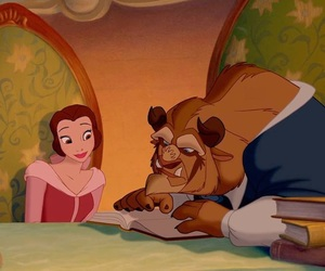 beast, disney, and love image