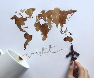coffee, travel, and world image