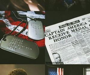 aesthetics, steve rogers, and Marvel image