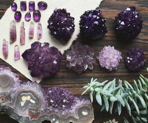 crystal, amethyst, and purple image