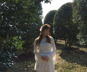 fashion, model, and lee chae eun image