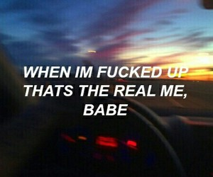 quotes, babe, and the weeknd image