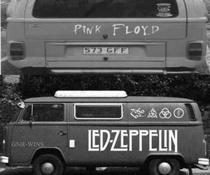 Pink Floyd, the who, and led zeppelin image