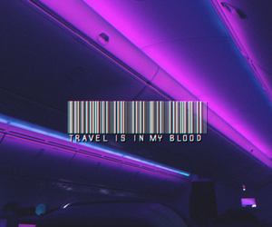 travel, purple, and aesthetic image