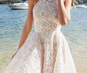 dress, ivory prom dresses, and ivory prom dress image