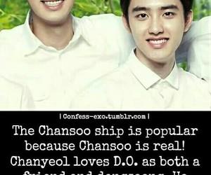 exo, chanyeol, and kaisoo image