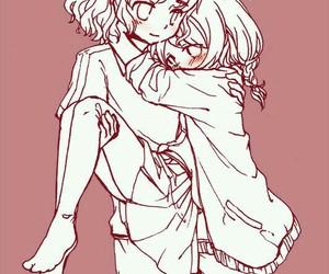 anime, fanart, and anime couple image