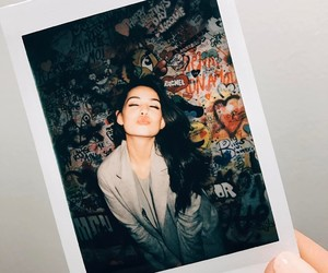 danielle campbell and polaroid image