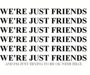just friends image