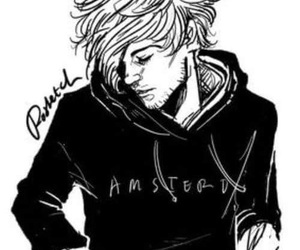 one direction, louis tomlinson, and fan art image