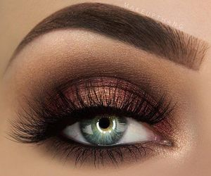 babe, eye shadow, and fashion image