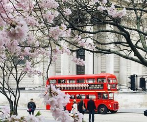 london, spring, and travel image