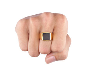 etsy, cool ring, and cool gold ring image