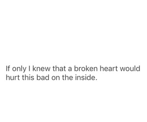 boy, breakup, and broken heart image