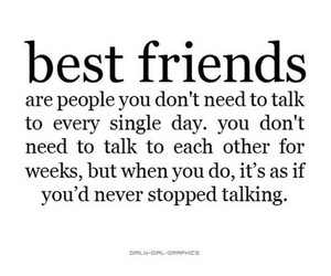 friendship, quote, and friends image