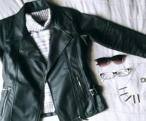 glasses, clothing, and cool image