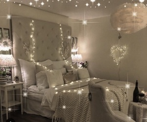 decor, dream room, and sparkles image