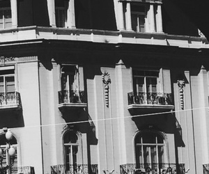 argentina, building, and black and white image