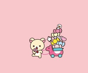 rilakkuma and wallpaper image