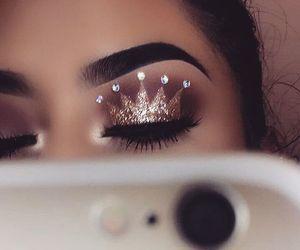 makeup, Queen, and beauty image