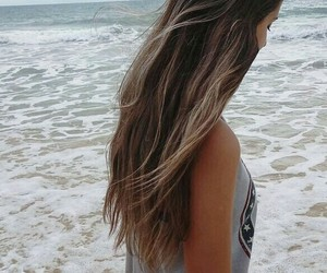 beach, blond, and california image