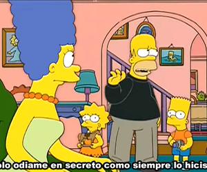homer, simpsons, and spanish image