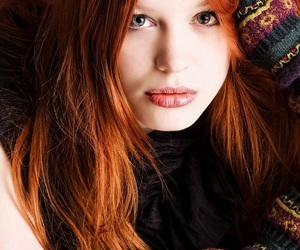 ginger hair, red hair, and redheads image