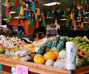 color, shopping, and tacos image