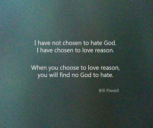 atheism, atheist, and reason image