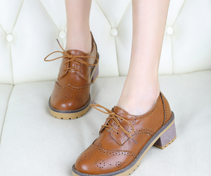 brogues, oxfords, and pure color image