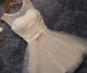 cute homecoming dresses, a-line homecoming dresses, and pearls homecoming dresses image