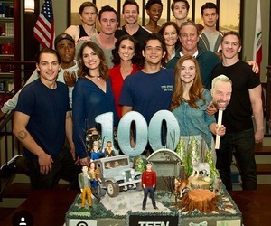 crying, teen wolf, and 100 episodes image