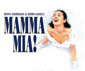 mamma mia, broadway, and musical image