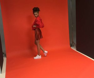 zendaya, red, and beautiful image
