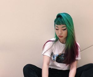 beauty, alternative, and dyed hair image